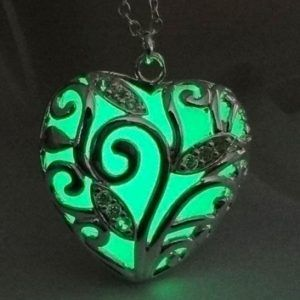 Forest Green Glow in the Dark (Glowie) necklace pendant now only R220.00 including postage to anywhere in South Africa.