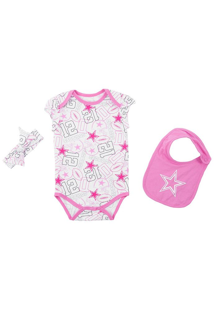 Dallas Cowboys Baby Pink Sissy Set One Piece - Image 1 764196ca6
