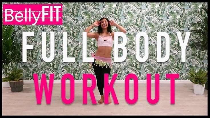 Full body workout no equipment belly dance beginners