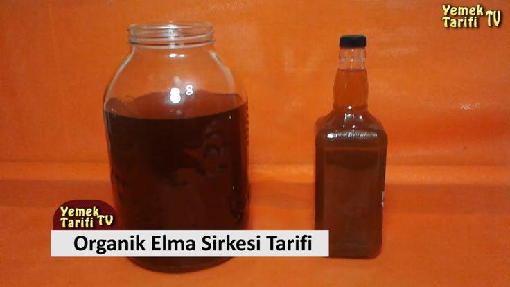 Elma Sirkesi Tarifi - Organik Sirke Nasıl Yapılır - YouTube
