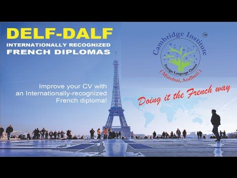 DELF - DALF diplomas in French