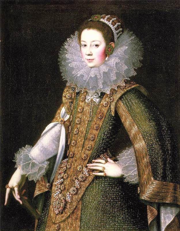 1622 Doña Juana de Salinas by Rodrigo de Villandrando (National Gallery of Ireland, Dublin)