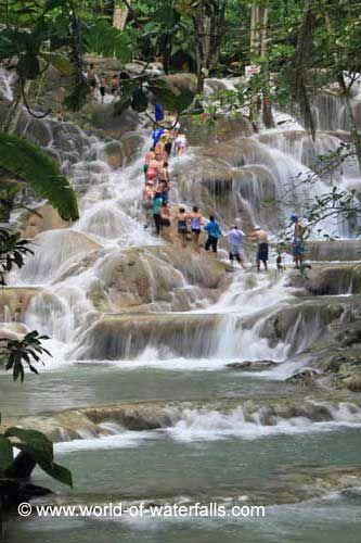 Dunns River Falls, Ocho Rios, St Ann Parish, Jamaica