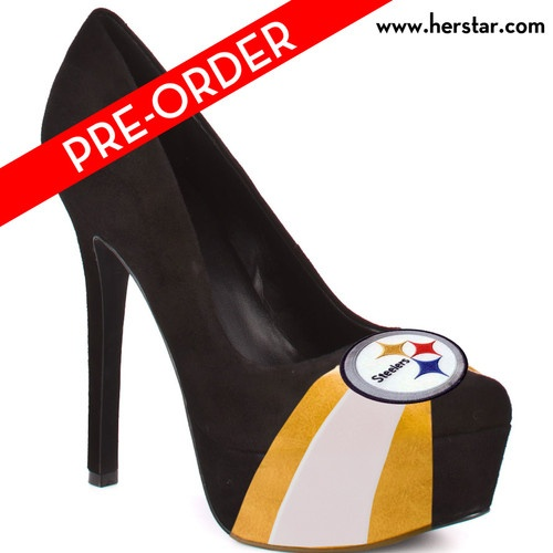 NFL Steelers Shoes, NFL Heels, Womens Steelers Shoes, Womens Steelers Heels | eBay