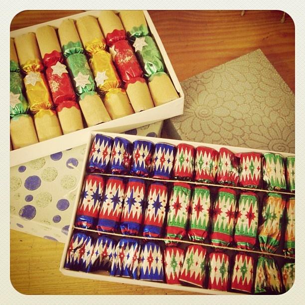 Vintage Christmas crackers - @Donna Flower- #webstagram