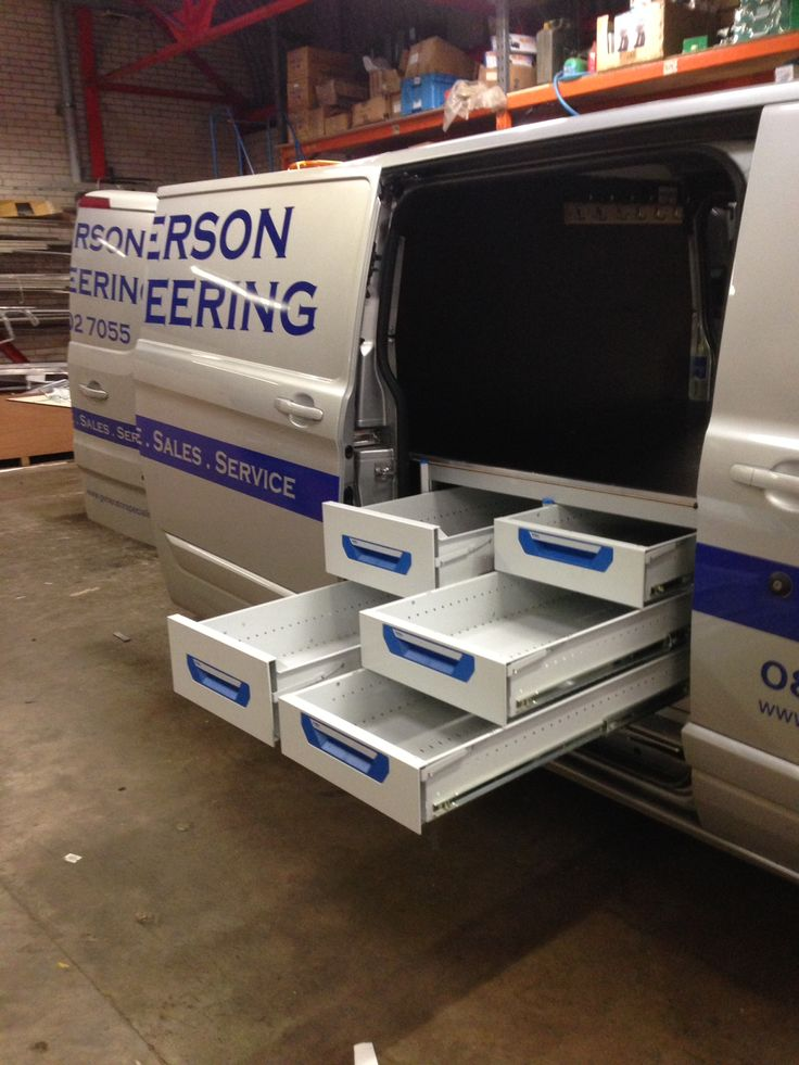 Ford Transit Custom L2 Sortimo Xl Drawer System