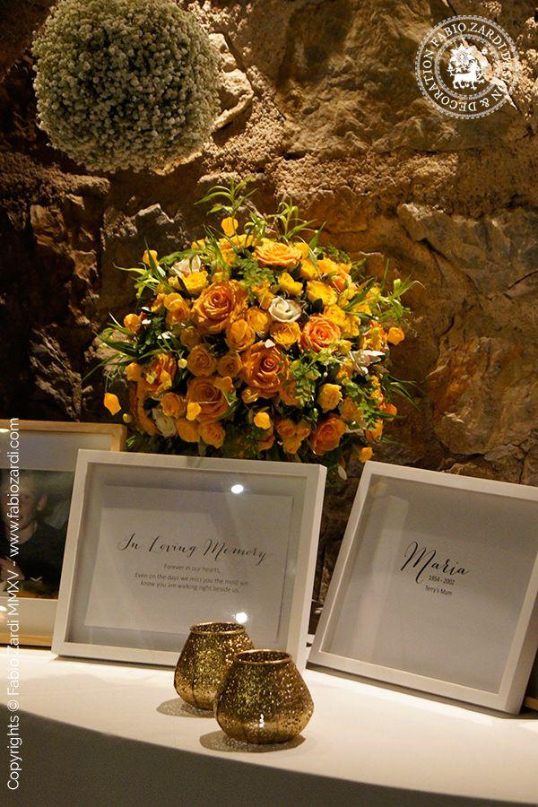 Jaimie & Terry: memorial table - FABIO ZARDI Event & Wedding DesignFABIO ZARDI Event & Wedding Design