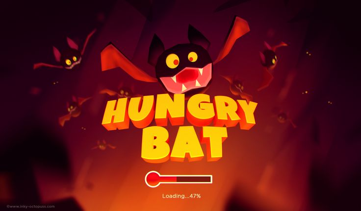 """Check out this @Behance project: """"Hungry Bat"""" https://www.behance.net/gallery/54349283/Hungry-Bat"""