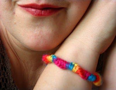 Day 12- Make friendship bracelets with yarn scraps.