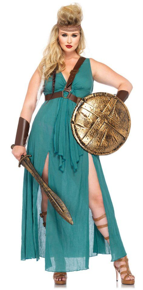Plus Size Women's Warrior Goddess Costume - Candy Apple Costumes - New Costumes for 2014