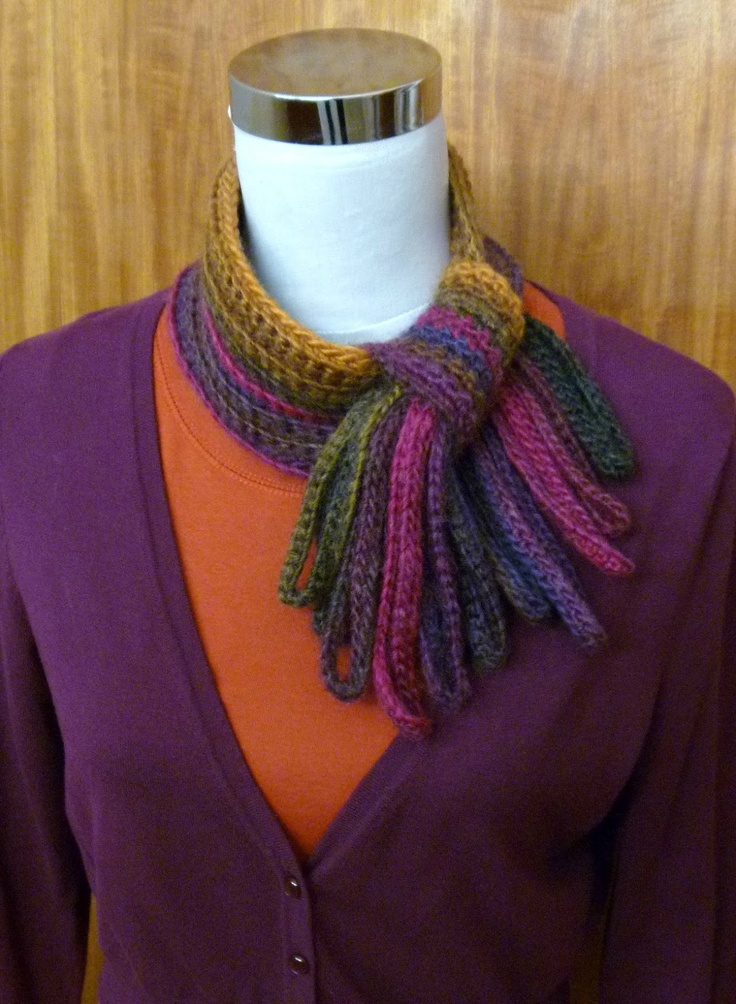 The Modern Jabot, pattern is available as a pdf download, for $5.50