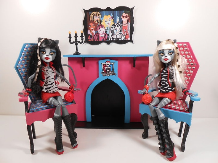 Monster High Furniture   1:6 Scale Wood Fireplace, UNFINISHED, UNASSEMBLED  | EBay