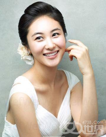 Korean bride - simple make-up
