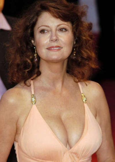 Susan Sarandon... Beautiful woman. Sad that her marriage to Tim Robbins ended.  B.