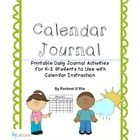In this 13 page interactive journal, you can supplement your daily calendar activities while keeping your kiddos engaged.  Print out these colorful...