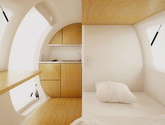 Tech News 24h: Ecocapsule Portable House