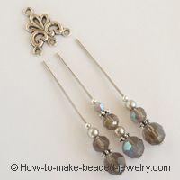 chandelier earrings tutorial
