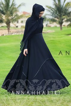 Modest wear - Black abaya eid outfit