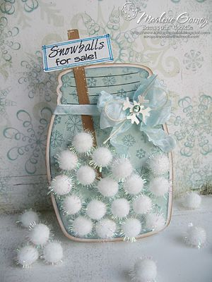 My Craft Spot: DT Post by Marlene - Snowballs for sale!