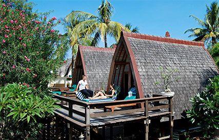 Gili Trawangan - Hotel Vila Ombak