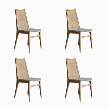 Dänische Vintage Stühle, 4er Set Jetzt bestellen unter   - stühle für die küche