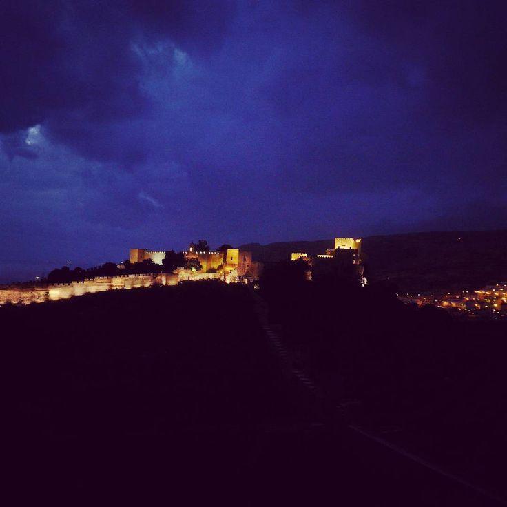 Fantastica Alcazaba #almeria #bynight #spain