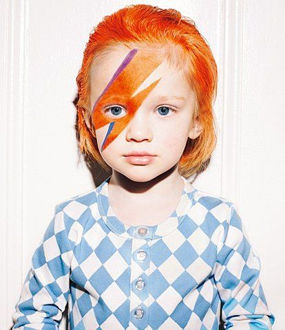 coolest kid around.: Dresses Up, Halloween Costumes, Kids Fashion, Minis, Gingers, David Bowie, Kidsfashion, Kids Music, Costumes Ideas