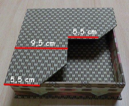 Tutorial detallado de caja porta-servilletas de mesa. Un Blog lleno de magnificas ideas. Cartonnageetcompagnie.com