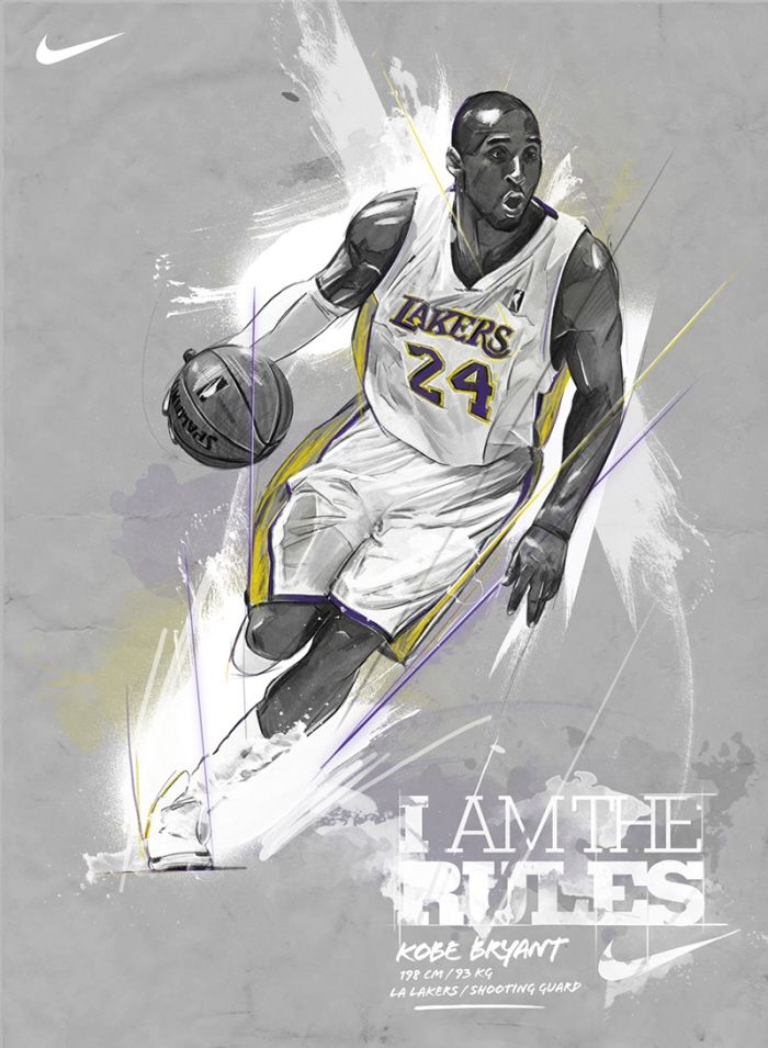 Kobe Bryant by Andre Pessel at Coroflot.com