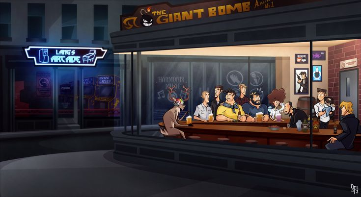 Nighthawks - The Giant Bomb Edition by Tigerhawk01