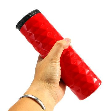 Best Black Red Diamond Insulation Cup Stainless Steel Vaccum Flasks Office Car Travel Water Bottles - NewChic Mobile