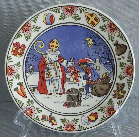 Sinterklaas bord / wandtegel