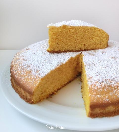 Torta soffice con zucca e farina di mais | Ricetta senza glutine