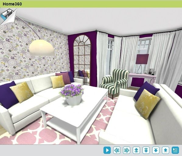 Experience Room Designs As If You Re Standing There With Roomsketcher Home Designer