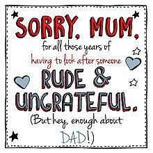 Buy Emotional Rescue Rude Mother's Day Card Online at johnlewis.com