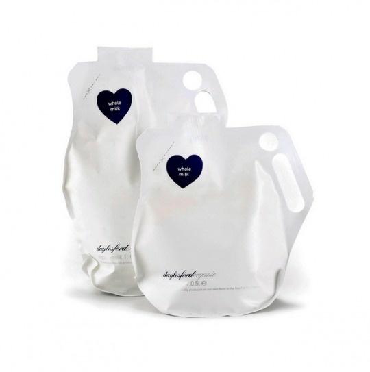 Eco clean. milk packaging, minimalistic design | Design @ best in packaging |
