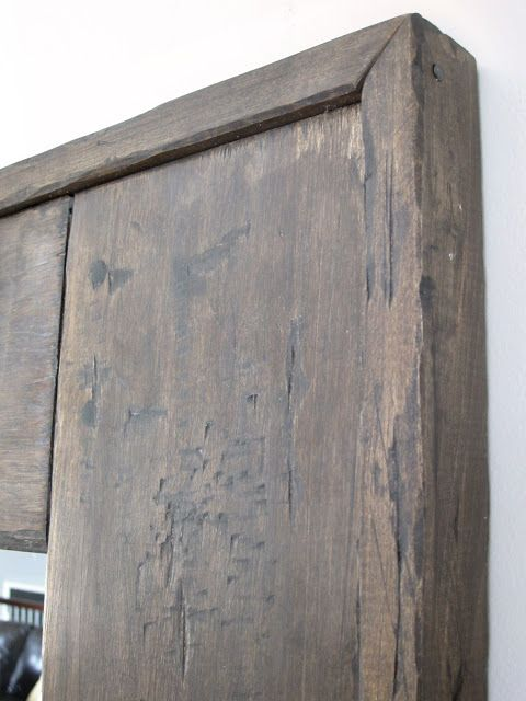 Perfectly Distressed Minwax Jacobean Mixwax Gray Stains Paint It Pinterest