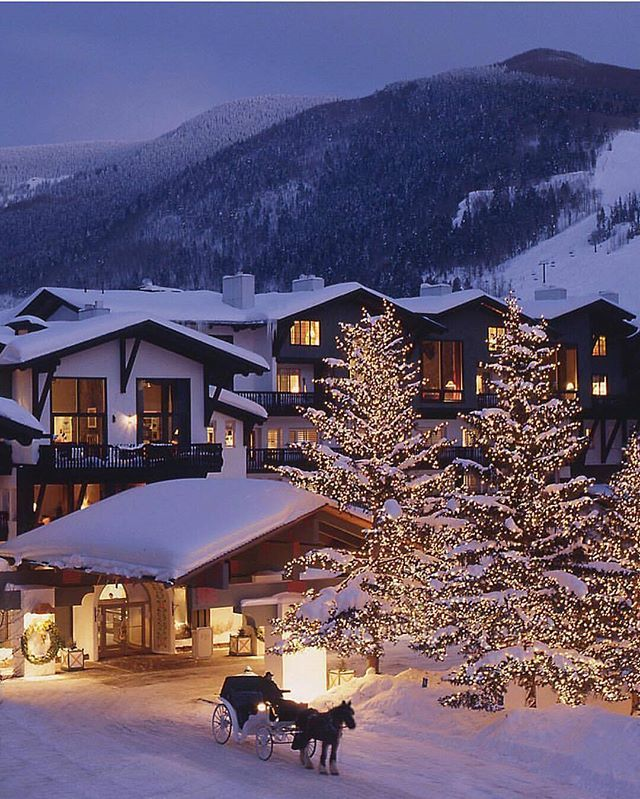 Vail Colorado ☃ do you prefer summer or winter ?  Courtesy of @lodgeatvail  #heavenlyhotels to be featured !
