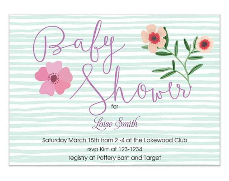 9 Free Online Baby Shower Invitations Your Guests Will Love: Free Baby Shower Evite from Two Branching Out