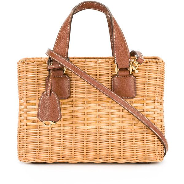 Mark Cross basket tote bag ($2,155) ❤ liked on Polyvore featuring bags, handbags, tote bags, nude, tote bag purse, mark cross, nude purses, handbags totes and tote handbags