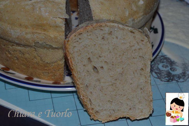pane con Pasta Madre cotto nel Versilia
