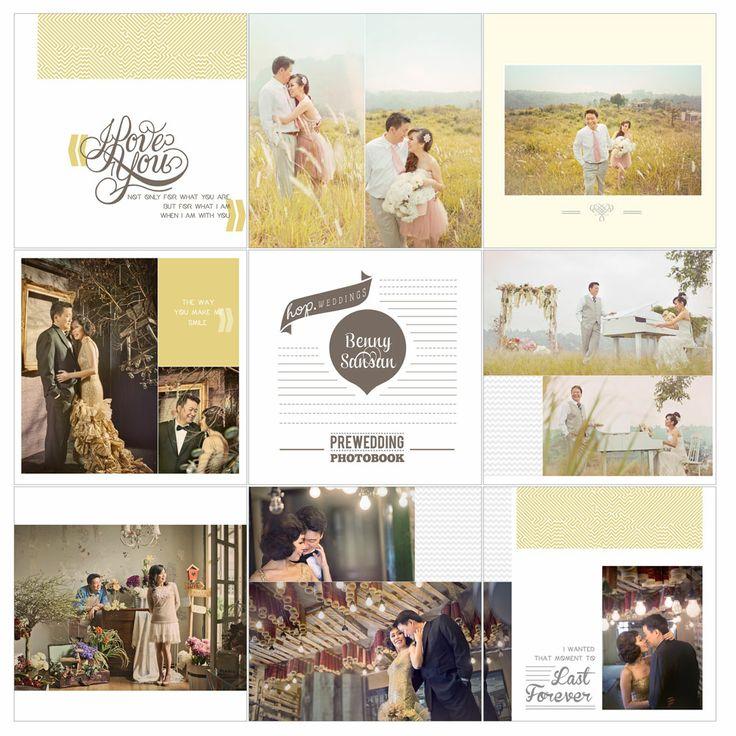 Benny & Sansan Prewedding Photobook Preview, edit & design by Wenny Lee, photo by HOP