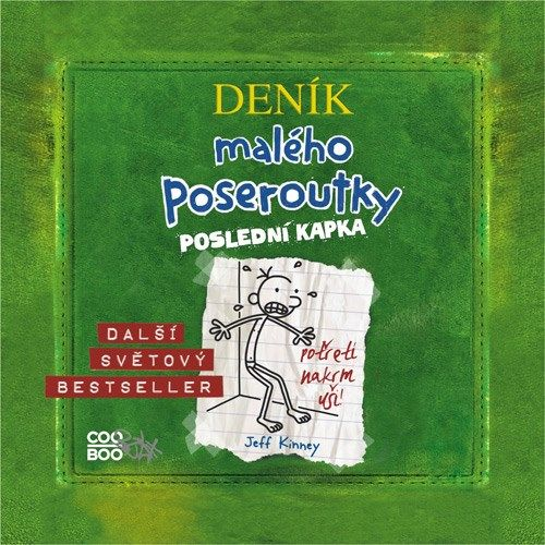Audiokniha obsahuje pokračování veleúspěšného bestselleru Denik maleho poseroutky, jehož autorem je Jeff Kinney.