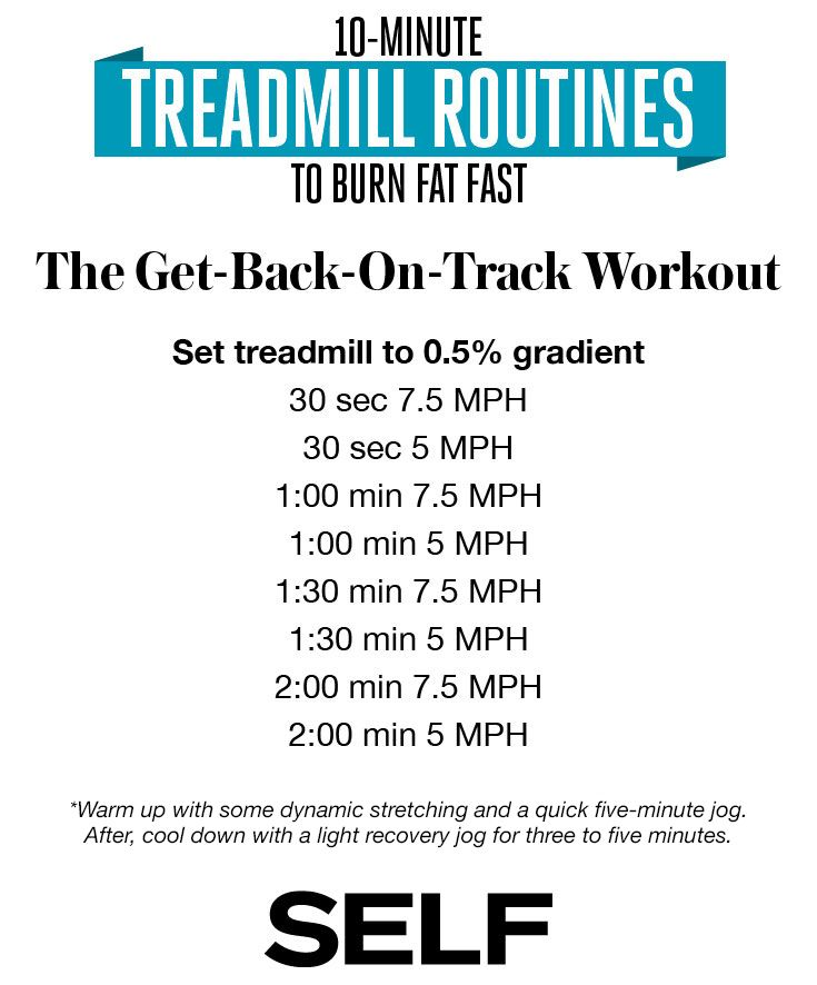 Get back on track for fall with this 10-Minute Treadmill Routine from @selfmagazine. Don't forget @simpleskincare face wipes to cleanse and re-hydrate after your workout!