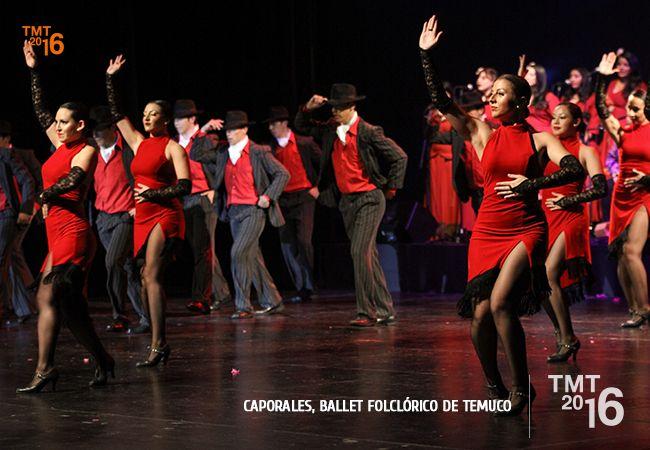 Múltiples danzas internacionales , también fueron interpretadas por el Ballet Folclórico de Temuco