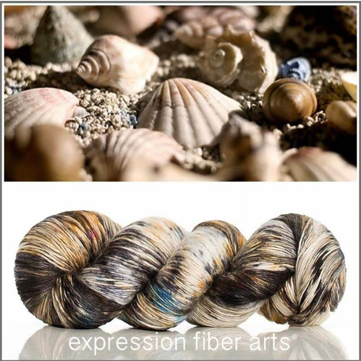 "279 Likes, 7 Comments - Expression Fiber Arts (@expressionfiberarts) on Instagram: ""New SUNSHELL Pearlescent Fingering Yarn (550 yd) is listed for you!! And get a FFRREE needle…"""