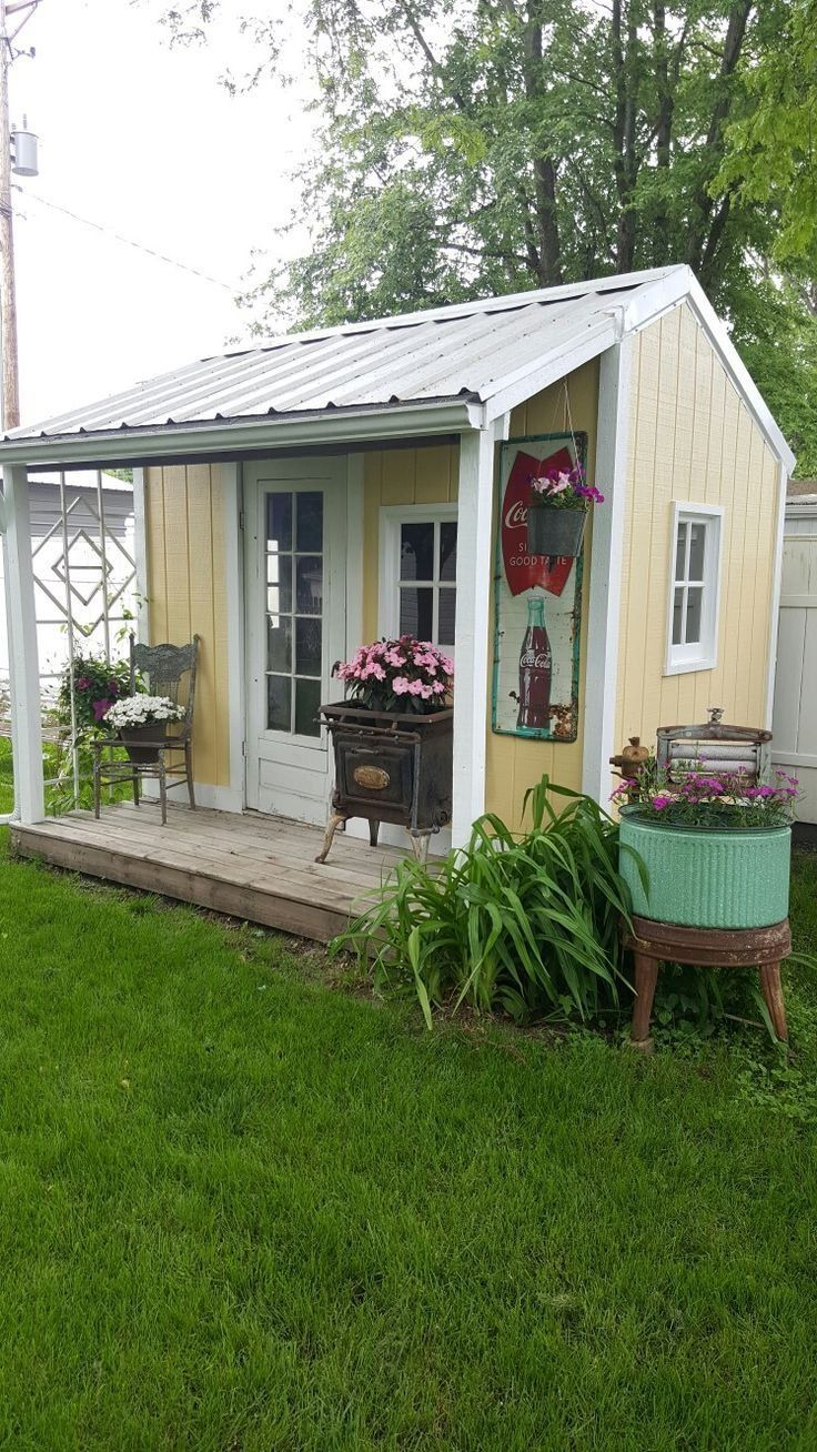 3417 best she sheds images on pinterest sheds garden on extraordinary unique small storage shed ideas for your garden little plans for building id=14587