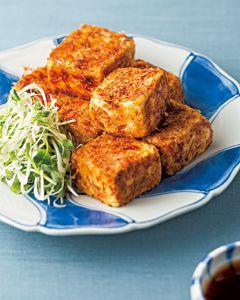 おかずのクッキング|テレビ朝日 豆腐のおかか焼き たっぷり薬味のせ テキストNO.193 P79