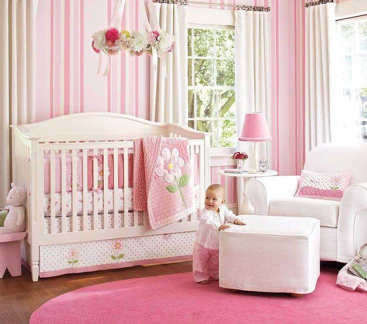 Decoração Quarto para Bebê Menina Rosa Lindo ~ Quarto Rosa Para Bebe