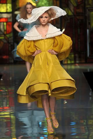 Dior Haute couture dress inspired by Romantic period ...